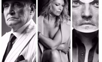 Stilīgi foto: Nacionālā teātra aktieru un režisoru jaunā portretu galerija