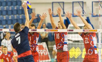 Latvijas volejbolisti zaudē Slovākijai EČ kvalifikācijas otrās kārtas spēlē