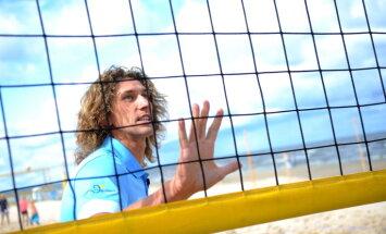 Majoros sākas pludmales volejbola svētki – 'CEV Satellite Jūrmala' turnīrs