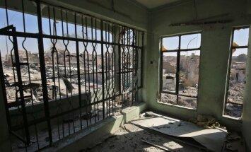 Irākas armija atkarojusi Nūri mošeju un paziņo par 'Daesh' 'kalifāta' krišanu