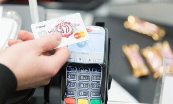 В Эстонии повышен лимит для бесконтактных покупок