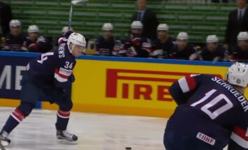 Video: Pasaules hokeja čempionāta pusfinālu skaistākie momenti
