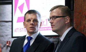 Pūci apstiprina par 'Latvijas attīstībai' premjera kandidātu; Repše tēmē uz veselības ministra amatu