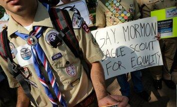 ASV par skautiem varēs kļūt arī geji