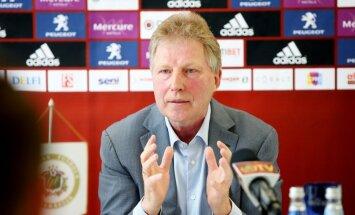 Старков отправлен в отставку c поста главного тренера сборной Латвии
