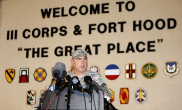 Apšaudē ASV armijas bāzē Teksasā nogalināti četri cilvēki un 16 ievainoti