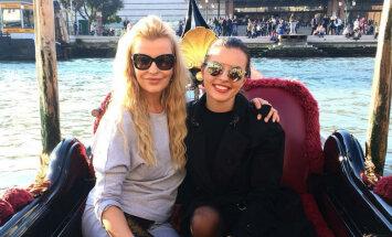 Foto: Agnese Zeltiņa ar meitu atpūšas Itālijā