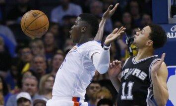 Pārtrūkst Bertāna 'Spurs' deviņu uzvaru sēriju