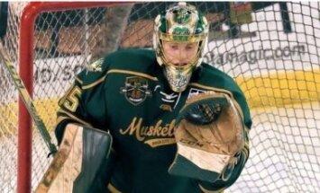 'Blue Jackets' paraksta līgumu ar Latvijas hokeja talantīgo vārtsargu Kivlenieku