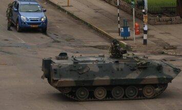 Zimbabvē notiekošais atgādina apvērsumu, paziņo Āfrikas Savienība