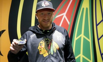 Chicago Blackhawks Marian Hossa