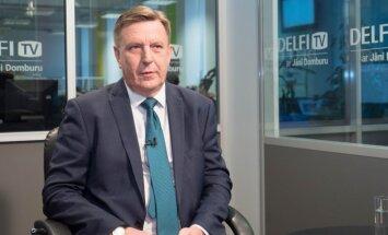 Кучинскис заявил в Брюсселе, что надо избегать дискуссий, которые могут способствовать расколу ЕС
