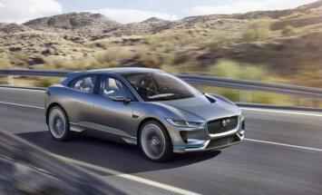 'Jaguar' pirmais elektromobilis 'I-Pace' nonāks arī ražošanā