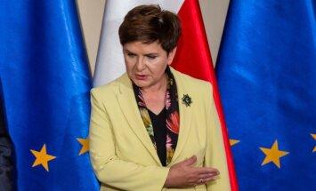 Polijas premjere kritizē Eiropas Parlamentu par Polijas kritizēšanu