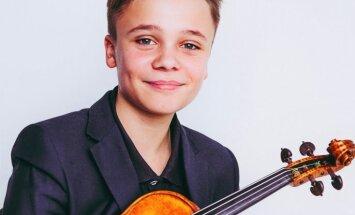 LNO ar solokoncertu uzstāsies vijoļspēles brīnumbērns Daniils Bulajevs