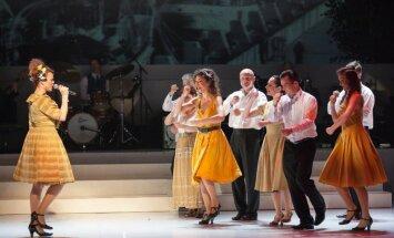 Foto: Dailes teātra sezonas noslēgums - koncerts 'Hameleona rotaļas – Spanovska ballīte'