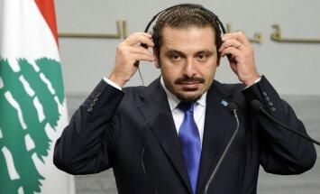 'Esmu brīvs, atgriezīšos Libānā,' paziņo Saads Hariri