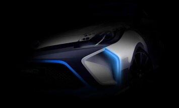 'Toyota' prezentēs 400 ZS jaudīgu 'Yaris' hibrīdu