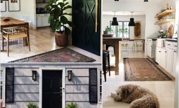 Ķer iedvesmu aiz astes: minimāla modernisma māja ar raupju 'piesitienu'