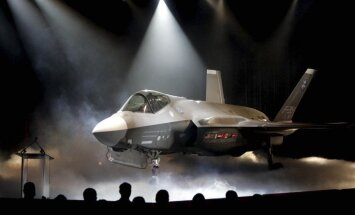 Par spīti starpvalstu saspīlējumam Turcija saņem pirmo 'F-35'