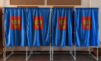 Krievijā notiek reģionālās vēlēšanas