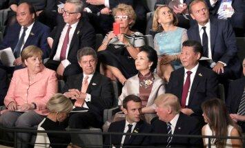 18 no G20 valstīm turpinās cīnīties ar klimata pārmaiņām; Tramps paliek pie sava