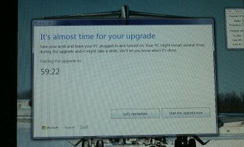 Microsoft заставляет пользователей Windows 7 и 8 переходить на Windows 10