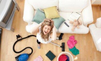 Iztīrīt istabu sešās minūtēs: amizants, taču iedarbīgs sliņķu glābšanas riņķis