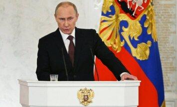 Putins: ASV un ES sankcijas var kaitēt Rietumu enerģētikas uzņēmumiem