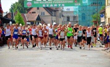 Kuldīgā risināsies pusmaratons Rio noskaņās