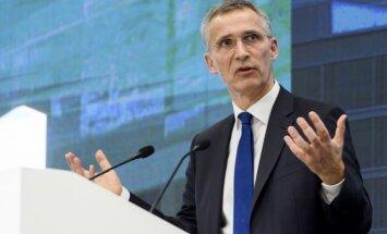 Stoltenbergs aicina NATO dalībvalstis pieklusināt retoriku