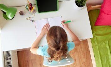No rakstāmgalda līdz aksesuāriem: padomi skolēna istabas labiekārtošanai