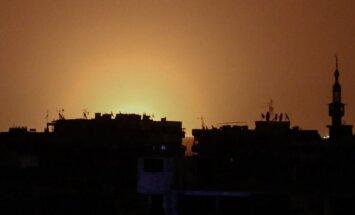 Damaskas lidostu satricina sprādziens; noticis Izraēlas uzlidojums