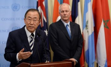 Ķīmisko ieroču lietošana Sīrijā ir kara noziegums, paziņo ANO līderis