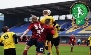 Jaunajā Latvijas Jaunatnes futbola čempionāta sezonā dalībnieku rekordskaits
