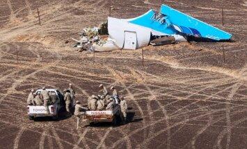Aviokatastrofas laikā ASV satelīti fiksējuši uzplaiksnījumu