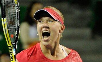Igaunijas tenisiste Kanepi otro reizi karjerā iekļūst 'French Open' ceturtdaļfinālā
