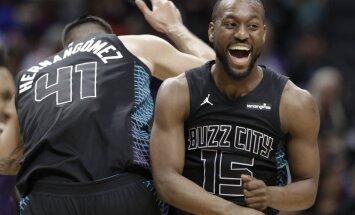 Šarlotas 'Hornets' kļuvis par sesto klubu NBA vēsturē ar '+60' uzvaru