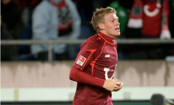 Latvijas izlases kandidātu sarakstā pārbaudes spēlei pret Ziemeļīriju iekļauts arī Rudņevs