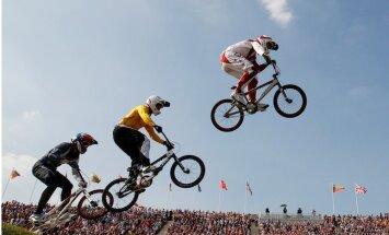Latvijas BMX kvartets nedēļas nogalē noslēgs superkrosa sezonu