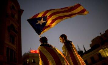 Neatkarības atbalstītāji var zaudēt vairākumu Katalonijas parlamentā