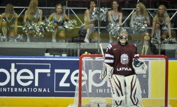 Latvijas izlases vārtus mačā pret Baltkrieviju sargās Masaļskis