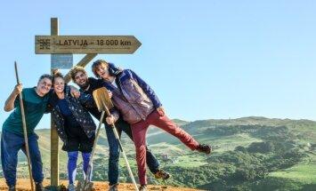 Stāsti par ekspedīciju uz tālāko pasaules vietu no Rīgas