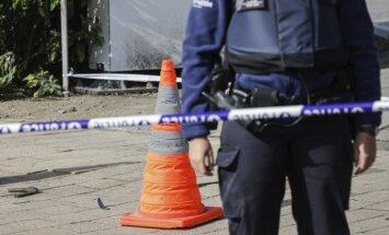 В Брюсселе ранили ножом двух полицейских