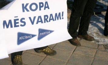 'Rīcības partija' iesniedz deputātu kandidātu sarakstu; katrs sestais – apsargs