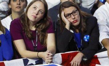 Foto: Pasaule satraukti gaida ASV prezidenta vēlēšanu rezultātus