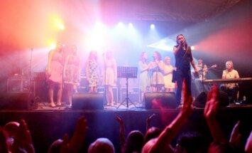 Foto: Marhileviča festivāls 'Zaļais stars' sapulcina 10 000 apmeklētāju
