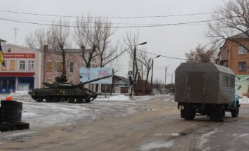 'Delfi' Ukrainā: situācija piefrontes zonā Sčastjas pilsētā