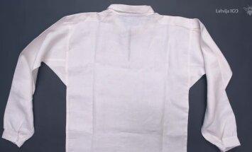 'Katram savu tautastērpu' pamācība: Kā pareizi pašūt tautisko kreklu