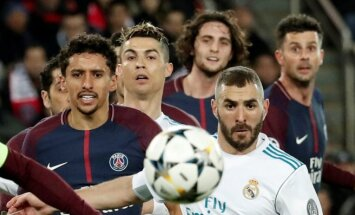 'Real Madrid' un 'Liverpool' bez grūtībām iesoļo Čempionu līgas ceturtdaļfinālā